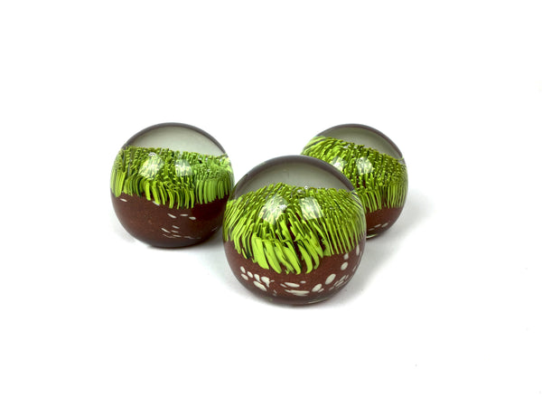 Turf Paperweights - Glass Paperweight