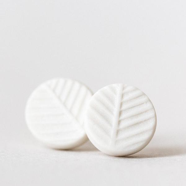 Fir earrings Ceramic -  Petite
