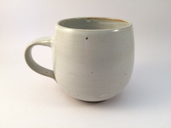 Ceramic mug - toasty white