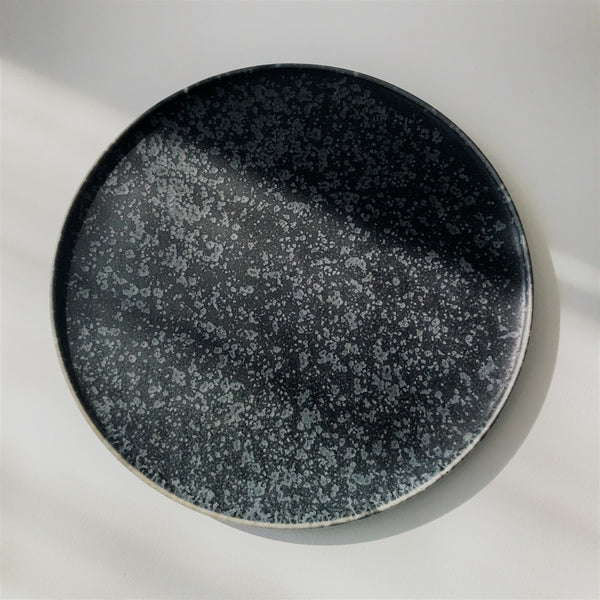 Black Crystal Matte Food Disc