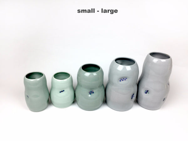 Ceramic Flower Jar - Large