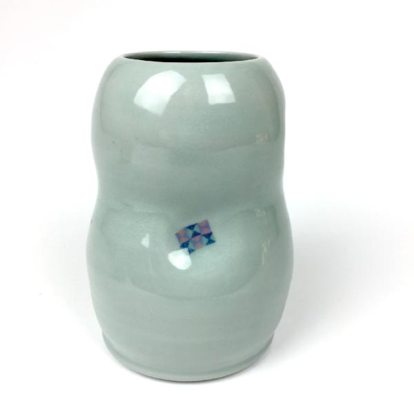Ceramic Flower Jar - Medium