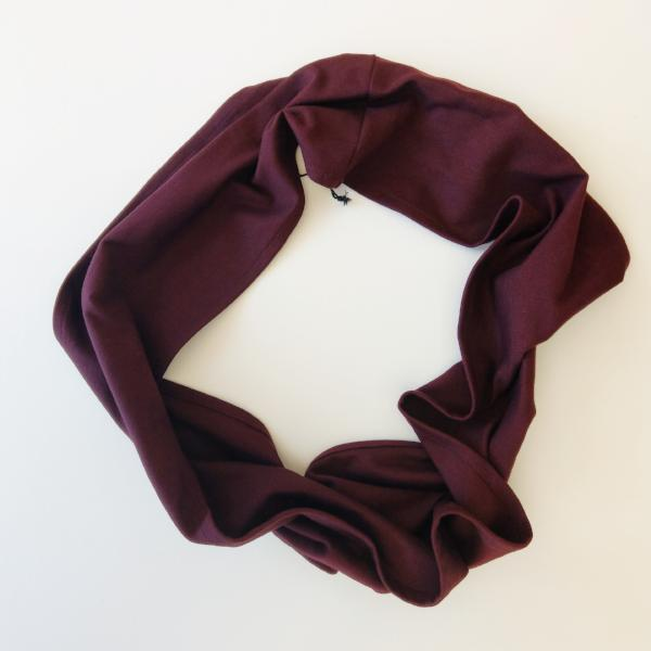 EDITION-Wine Loop Viscose Scarf