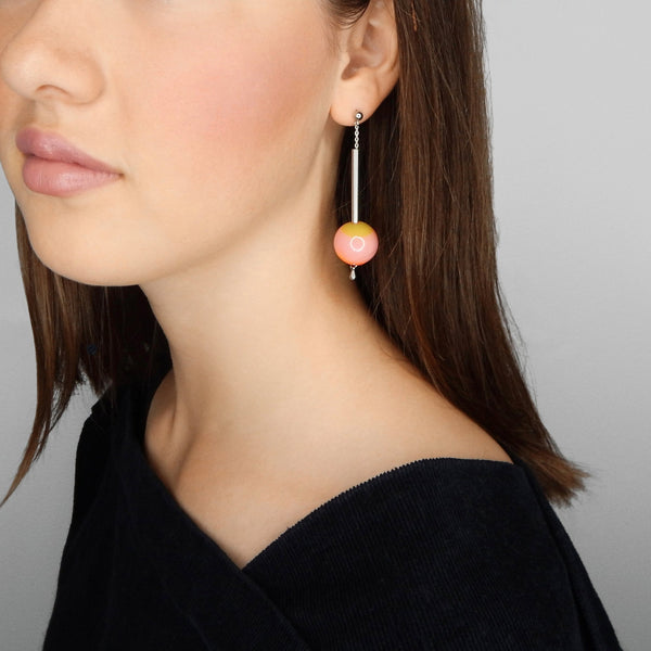 Quiet Universe earrings (triple colour)