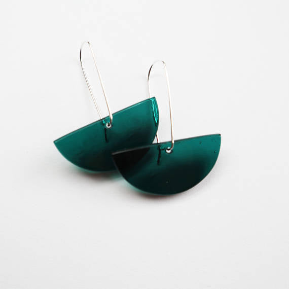 Kilnformed Glass Earrings