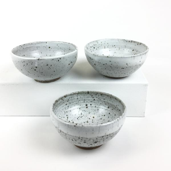 White Speckled Bowl (Medium)