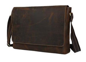 Samson Slim Messenger Bag - TieThis Neckwear and Accessories and TieThis.com