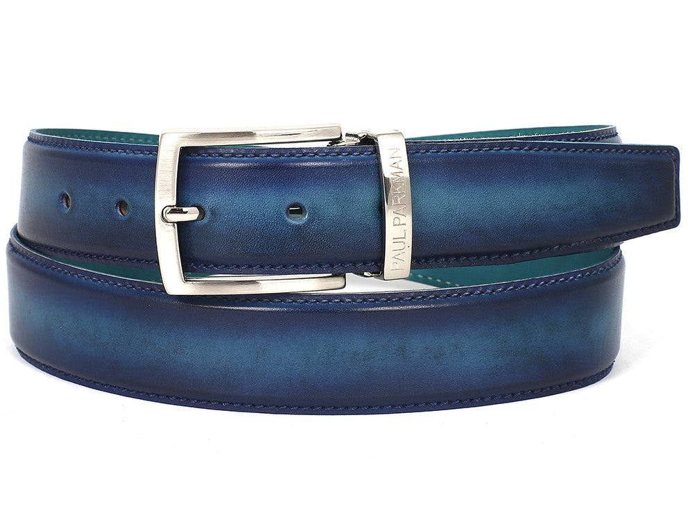 Paul Parkman Dual Tone Blue & Turquoise - TieThis Neckwear and Accessories and TieThis.com