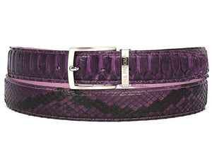 Purple Genuine Python (snakeskin) - TieThis® Neckwear and Accessories