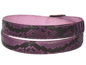 Paul Parkman Purple Genuine Python - TieThis Neckwear and Accessories and TieThis.com