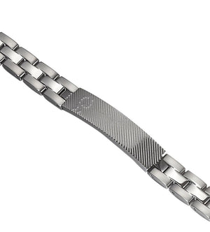 Windsor Stainless Steel Bracelet - TieThis Neckwear and Accessories and TieThis.com