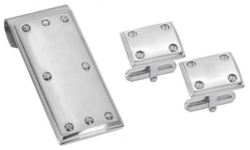 Anderson Cuff Links and Money Clip - TieThis Neckwear and Accessories and TieThis.com