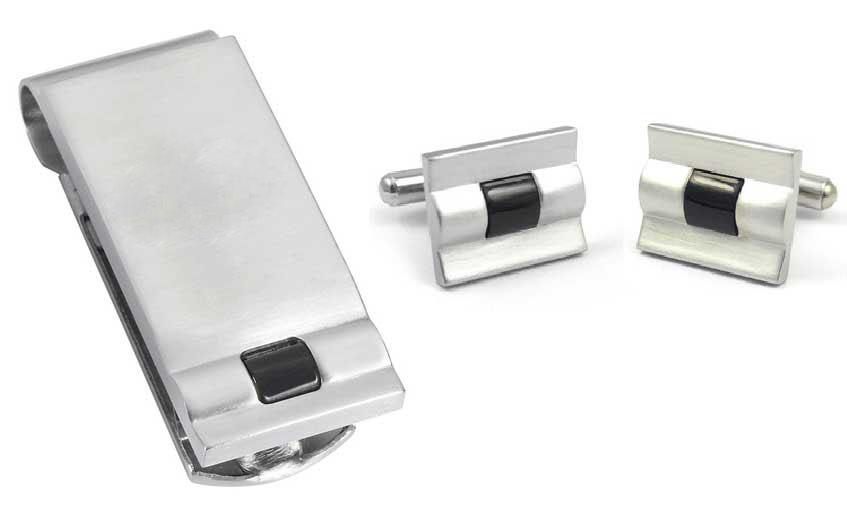 Christopher Cuff Links and Money Clip - TieThis Neckwear and Accessories and TieThis.com