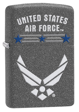 Zippo Iron Stone Air Force Lighter - TieThis Neckwear and Accessories and TieThis.com