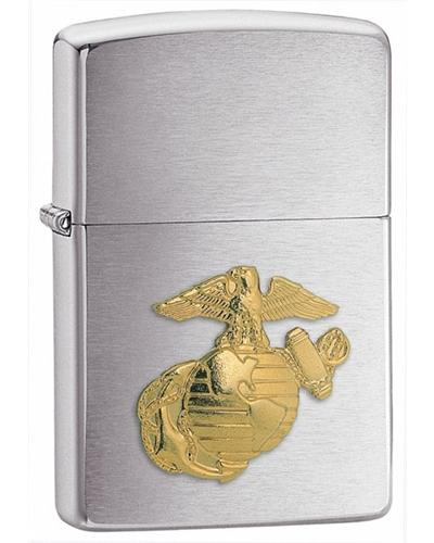 Zippo U.S. Marines Emblem Lighter - TieThis Neckwear and Accessories and TieThis.com