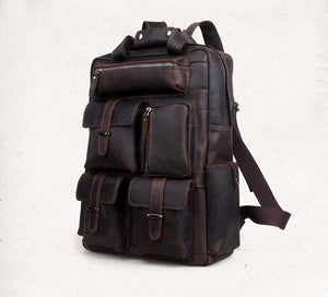 Geronimo Leather Backpack - TieThis Neckwear and Accessories and TieThis.com