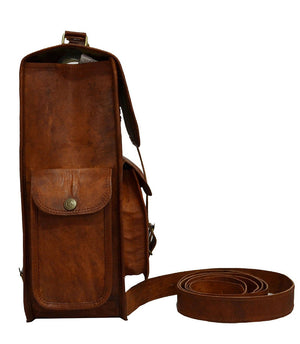"Jackson Leather Backpack 14"" - TieThis Neckwear and Accessories and TieThis.com"