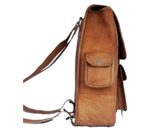 Jackson Leather Backpack - TieThis Neckwear and Accessories and TieThis.com