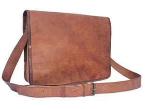 "Andrew Large 15"" Messenger Bag - TieThis Neckwear and Accessories and TieThis.com"