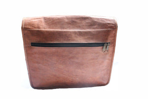 Covington Leather Messenger - TieThis Neckwear and Accessories and TieThis.com