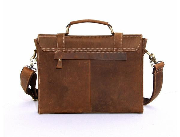 Men - Bags - Crossbody - Durham Leather Messenger Bag