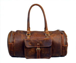 Basel Brown Duffel Bag - TieThis Neckwear and Accessories and TieThis.com
