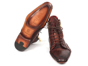Paul Parkman  Crocodile & Calfskin Handmade Zipper Boots - TieThis Neckwear and Accessories and TieThis.com