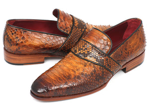 Paul Parkman  Python Loafers - TieThis Neckwear and Accessories and TieThis.com