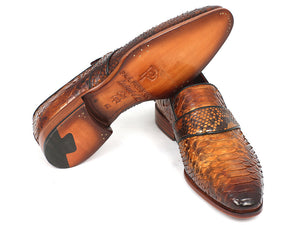 Genuine Python Loafers - TieThis® Neckwear and Accessories