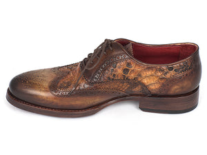 Paul Parkman  Python & Brown Wingtip Oxfords - TieThis Neckwear and Accessories and TieThis.com