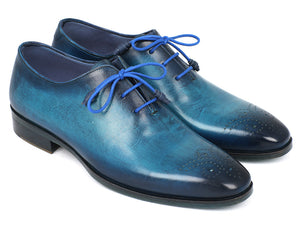 Blue & Navy Medallion Toe Oxfords - TieThis® Neckwear and Accessories