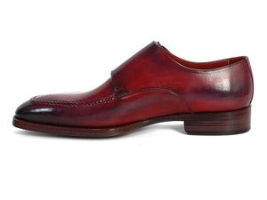 Paul Parkman Black & Bordeaux Double Monkstrap - TieThis Neckwear and Accessories and TieThis.com