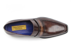 Paul Parkman Bronze Leather Loafer - TieThis Neckwear and Accessories and TieThis.com