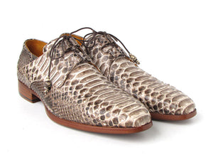 Paul Parkman Natural Python Oxford - TieThis Neckwear and Accessories and TieThis.com