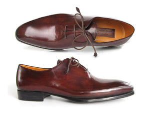 Oxford Dress Shoes Brown & Bordeaux - Tie This Menswear and Accessories