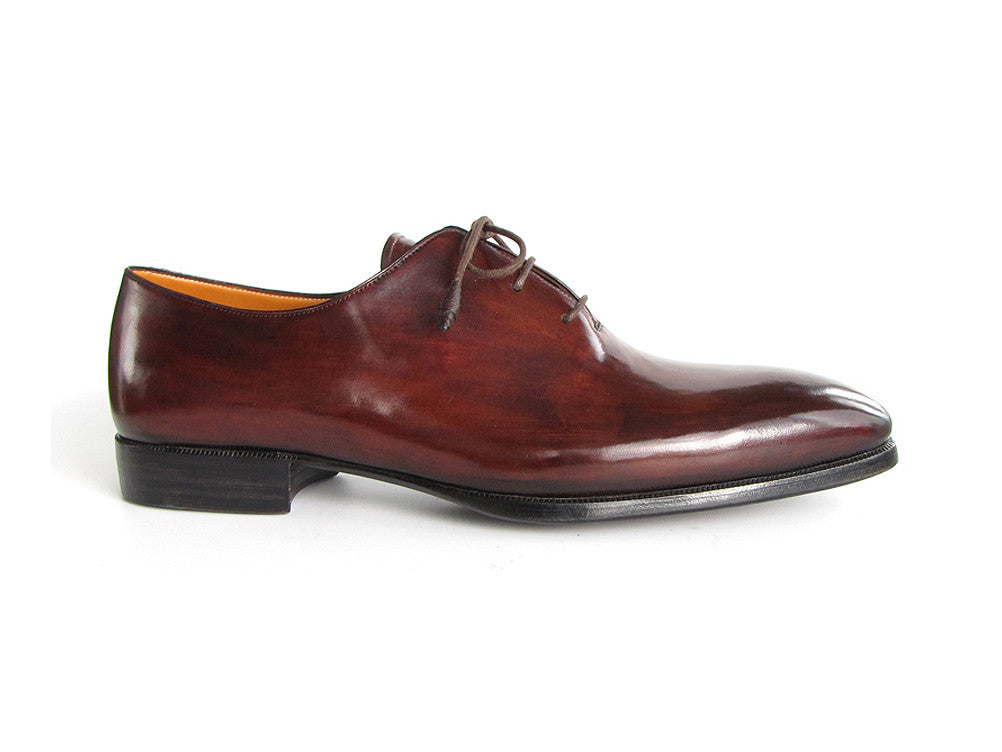 Shoes - Paul Parkman Men's Oxford Dress Shoes Brown & Bordeaux (ID#22T55)