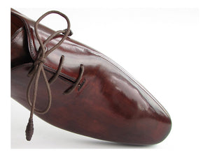 Paul Parkman Oxford Dress Shoes Brown & Bordeaux - TieThis Neckwear and Accessories and TieThis.com