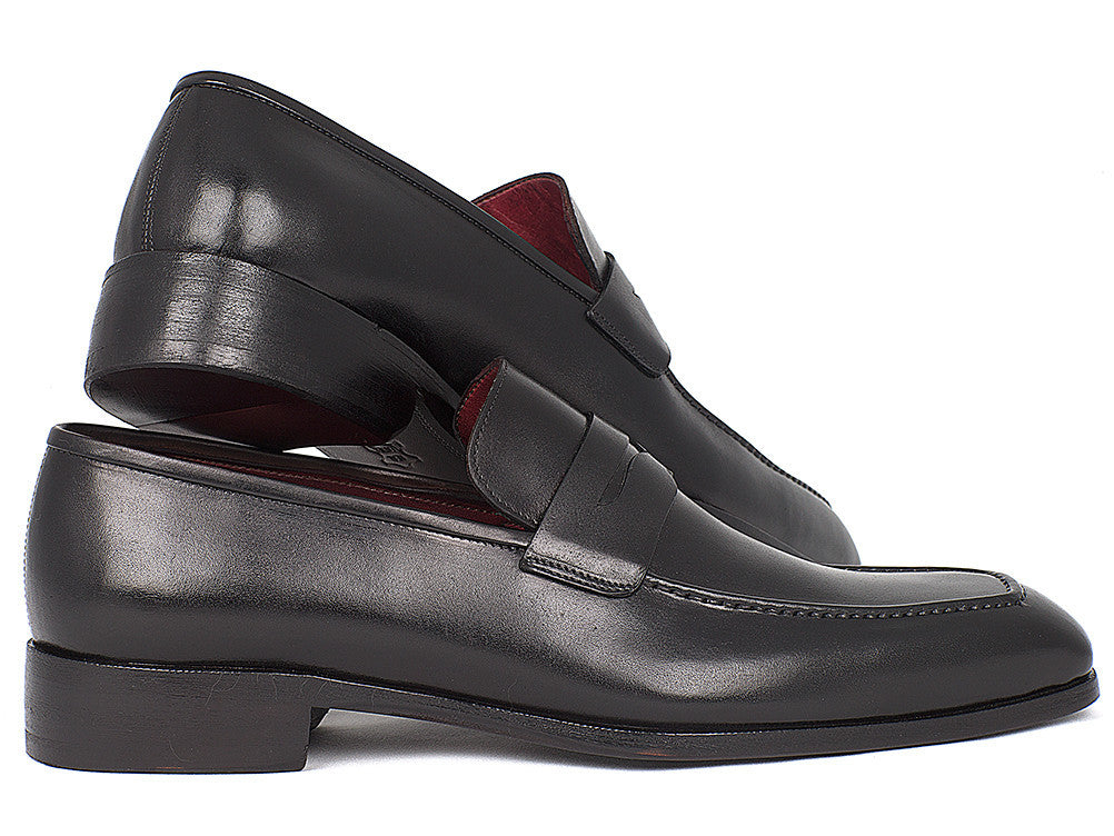 ec176041a74 Paul Parkman Black Calfskin Penny Loafer - TieThis Neckwear and Accessories  and TieThis.com