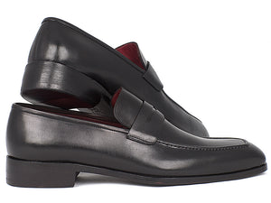 Paul Parkman Black Calfskin Penny Loafer - TieThis Neckwear and Accessories and TieThis.com
