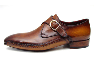 Paul Parkman Single Monkstraps Brown - TieThis® Neckwear and Accessories