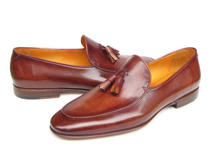 Paul Parkman Tassel Loafer Brown - TieThis Neckwear and Accessories and TieThis.com