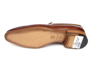 Paul Parkman Tassel Loafer Camel & Brown - TieThis Neckwear and Accessories and TieThis.com