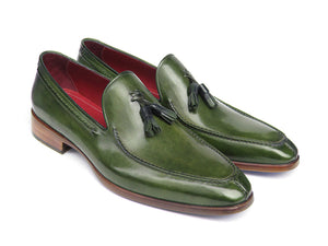 Paul Parkman Tassel Loafer Green - TieThis Neckwear and Accessories and TieThis.com