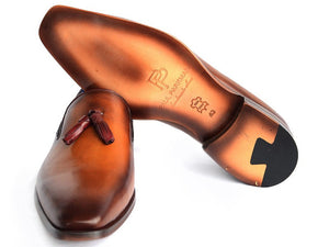 Paul Parkman Walnut Tassel Loafer - TieThis Neckwear and Accessories and TieThis.com