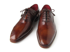 Paul Parkman Plain Toe Brown Calfskin Oxfords - TieThis Neckwear and Accessories and TieThis.com