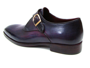 Single Monkstrap Shoes Purple - TieThis® Neckwear and Accessories