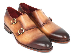 Paul Parkman Two Tone Double Monkstrap - TieThis Neckwear and Accessories and TieThis.com
