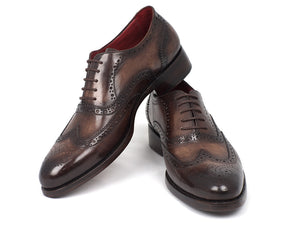 Paul Parkman Brown Wingtip Oxfords - TieThis Neckwear and Accessories and TieThis.com