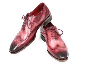Paul Parkman Burgundy Wingtip Oxfords - TieThis® Neckwear and Accessories