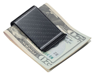 Black Carbon Fiber Money Clip - TieThis Neckwear and Accessories and TieThis.com